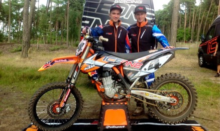 Ice1Racing com novos pilotos no Mundial de Motocross