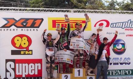 Resultados de domingo da Copa Minas de Motocross