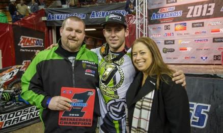 Babbitt's confirma pilotos para o AMA Arenacross 2014