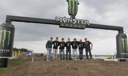 Team Brasil conheceu o circuito do MX das Nações