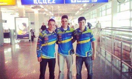 O Team Brasil já está na Europa para o MXoN