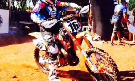 Enzo Lopes teve êxito no Gold Cup Motocross