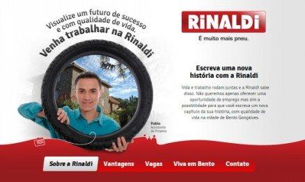 Trabalhe e cresça com a Rinaldi !!