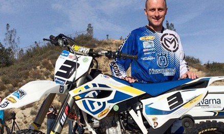 Mike Brown na Husqvarna em 2014 !!!