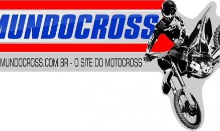 logo V4 mundocross 2013 com moto site slogan preto