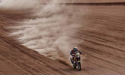 Marc Coma é tetracampeão nas motos no Dakar