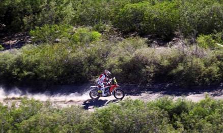 MOTORSPORT - DAKAR ARGENTINA BOLIVIA CHILE  2014 - STAGE 2 / ETAPE 2 - SAN LUIS  (ARG) - SAN RAFAEL (ARG) - 06/01/2014 - PHOTO FREDERIC LE FLOCH / DPPI - 003 BARREDA BORT JOAN (ESP) - HONDA - ACTION