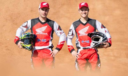 Honda anuncia pilotos para o Motocross Brasileiro 2014