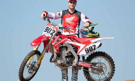 Equipe Honda de Motocross 2014