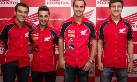 Honda apresenta pilotos e equipes para temporada 2014