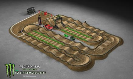 Vídeo – Volta virtual AMA Supercross em Houston