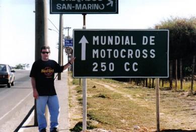 Jorge Soares no GP Brasil de Motocross 250cc em Belo Horizonte