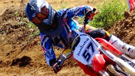 Juninho venceu aas categorias MX Amador e  85cc
