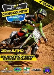 São Jerônimo da Serra  recebe a 4a Etapa do Campeonato Paranaense de Cross Country