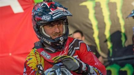 Justin Barcia fora do AMA Motocross