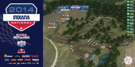 Vídeo – Volta virtual AMA Motocross em Indiana