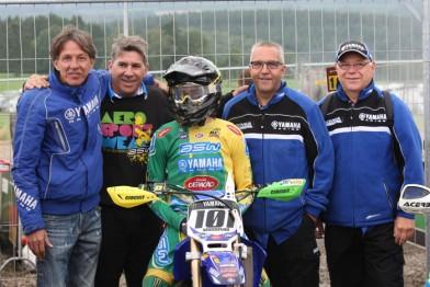 Pilotos representaram o Brasil no Mundial de Motocross Junior