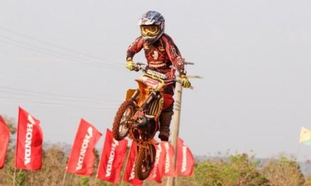 Diogo Moreira fez uma prova de recuperação e venceu a prova