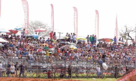 Público lotou as arquibancadas de Campo Grande