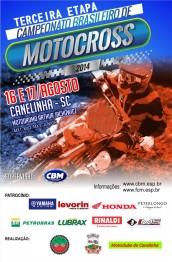 Pilotos desembarcam em SC esta semana para BR de Motocross