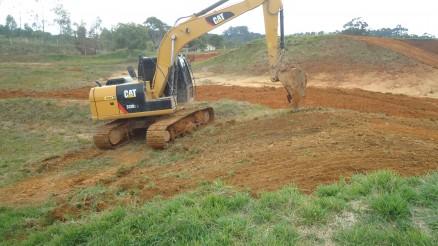 Pista de Canelinha (SC) recebe reparos para o Brasileiro de Motocross