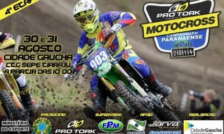 Quarta Etapa do Campeonato Paranaense de Motocross acontece neste final de semana