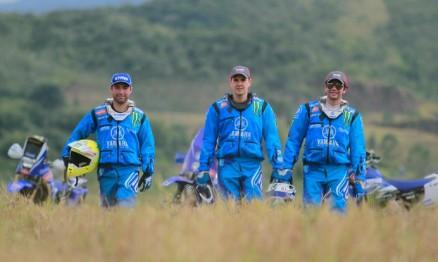 Equipe Yamaha Geração Racing preparada para o Rally dos Sertões 2014