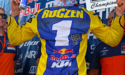 Ken Roczen é o campeão do AMA Motocross 2014 na categoria 450cc