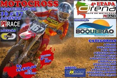 4a etapa do Arena Nordeste de Motocross acontece neste final de semana