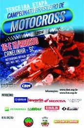 Programação para o Brasileiro de Motocross em SC
