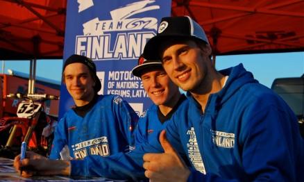 Conheça o Team Finlândia para o MXoN 2014