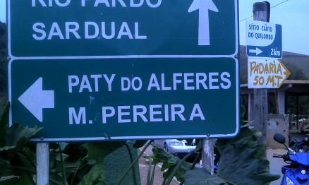 Chegando em Paty do Alferes