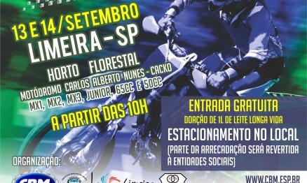 Inscrições abertas para 5ª etapa do Brasileiro de Motocross