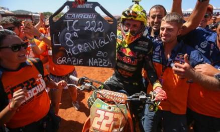 Antonio Cairoli conquista o oitavo título do Mundial de Motocross