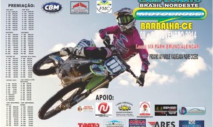 Brasil Nordeste de MX chega à última etapa com elogio de pilotos