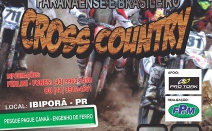 4ª etapa do Brasileiro de Cross Country será neste domingo no PR