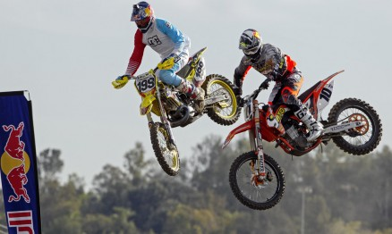 Travis Pastrana e Justin Brayton nas Classificatórias desta tarde