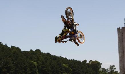 Joaninha venceu o Desafio Internacional de Motocross Estilo Livre.
