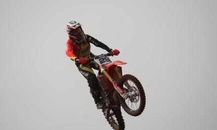 Serrão foi campeã latino americana de Motocross em 2014