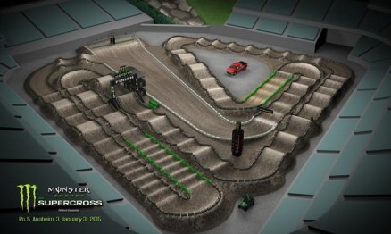 Vídeo – Volta virtual AMA Supercross 2015 em Anaheim 3