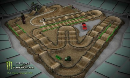 Vídeo – Volta virtual AMA Supercross 2015 em Phoenix