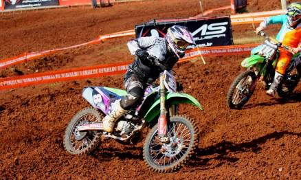 Lucas vem de uma família que tem história no motocross e foi campeão gaúcho de velocross em 2014.