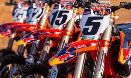 Vídeo da apresentação da equipe Red Bull KTM