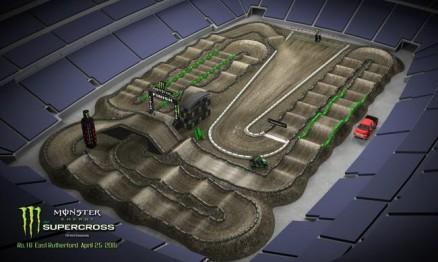 Vídeo – Volta virtual AMA Supercross 2015 em East Rutherford