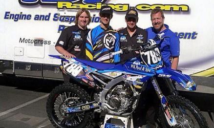 Jean e o pessoal da equipe Wk pool & spa / Tbt racing team em Anaheim