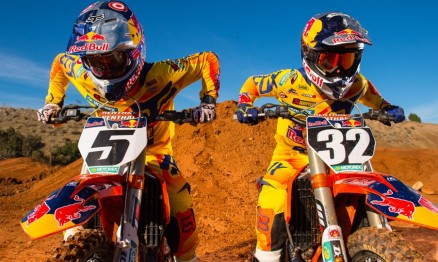 Ryan Dungey #5 e #Justin Hill #32 daRed Bull KTM - Foto: Simon Cudby