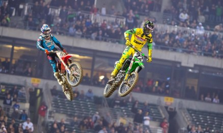 Trey Canard #41 e Chad Reed #22