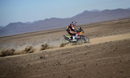 Marc Coma vence o 5º dia do Dakar