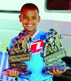 Entrevistamos Erick Bom Reis, campeão gaúcho de Velocross 50cc