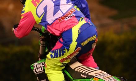 Chad Reed #22 teve problemas na moto